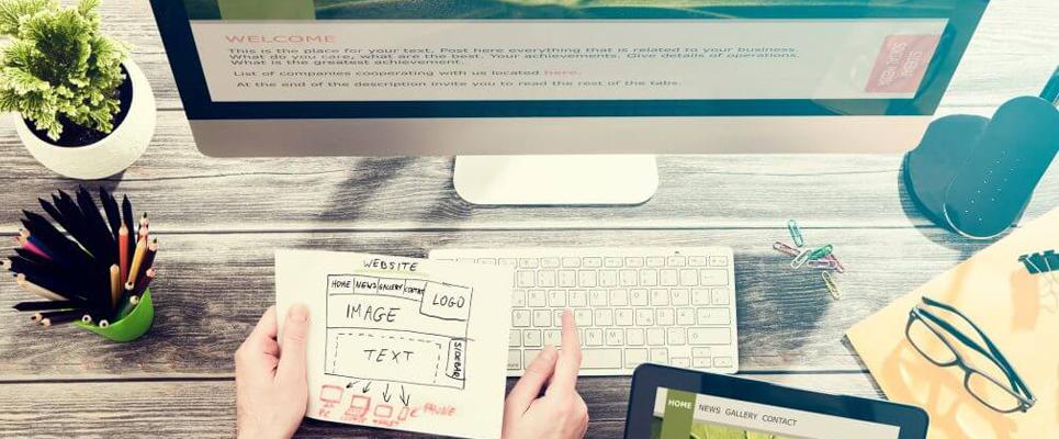 site web professionnel adapté à vos besoins